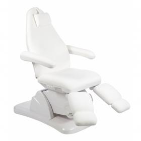 Καρέκλα αισθητικής ποδολογίας Cubo 2244A με 3 μοτέρ λευκή