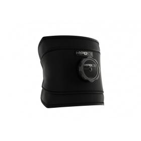 HYPERICE επίδεσμος κρυοθεραπείας μέσης Ice Compression Technology Black