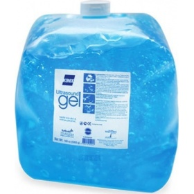 Ultrasound and IPL blue liquid gel 5lit flexible bag Konix 5lit