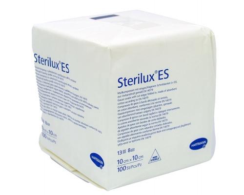 Γάζες υφασμένες μη αποστειρωμένες STERILUX ES 10x10cm 8ply 100 τεμάχια