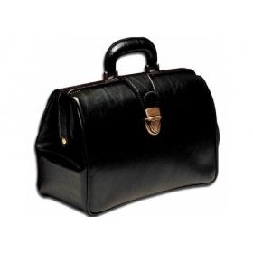 Τσάντα ιατρική από δερματίνη TEXAS SKAY μαύρη