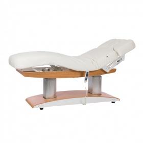 Ηλεκτρικό κρεβάτι αισθητικής-SPA με 4 μοτέρ και ανοιχτόχρωμη βάση TROCH