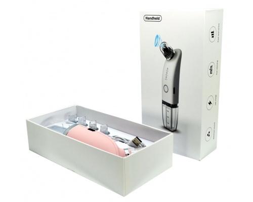 Φορητή συσκευή υδροδερμοαπόξεσης 4 σε 1 Mini Water Facial ροζ