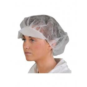 Καπέλο με γείσο μιας χρήσης Non Woven 100 τεμάχια