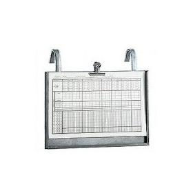 Chart plate inox D-94