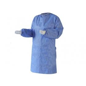 Μπλούζα χειρουργική ενισχυμένη SMS αποστειρωμένη 40gr Large μπλε