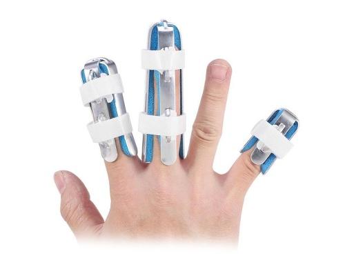 Σετ Νάρθηκες δακτύλου αλουμινίου με δέστρες  3 τεμαχίων