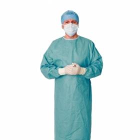 Ποδιές χειρουργικές ενισχυμένες αποστειρωμένες CLASSIC performance μιας χρήσης πράσινες