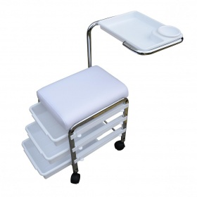 Στήριγμα ποδιών για πεντικιούρ Brevis WK-M005 λευκό