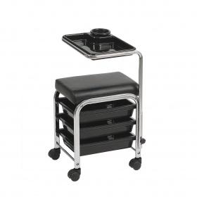 Manicure- pedicure trolley Brevis WKM005 black