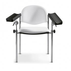 Καρέκλα αιμοληψίας-εμβολιασμού Haemo-Nova ασπρόμαυρη