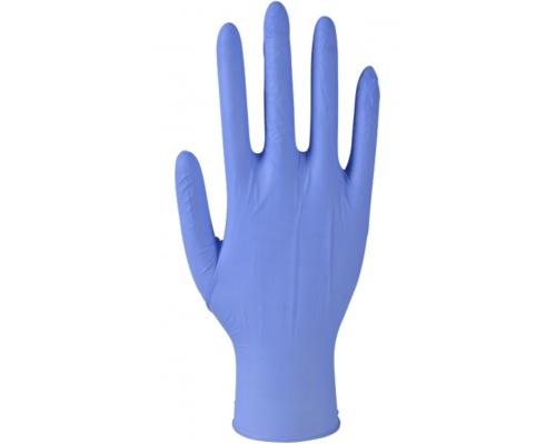 Γάντια εξεταστικά νιτριλίου χωρίς πούδρα ABENA CLASSIC 150 τεμάχια μπλε (S)