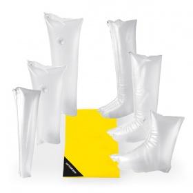 First aid air cushion splints