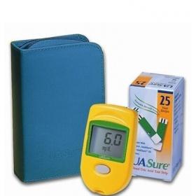 UA Sure blood uric acid monitoring system