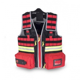 Tes fabric first aid vest for technicians EB02.050