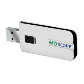 Σύνδεση USB για βίντεο ωτοσκόπιο MD Scope
