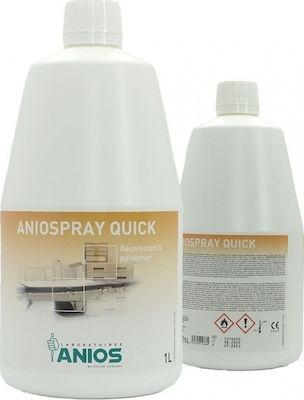 ANIOSPRAY QUICK απολυμαντικό επιφανειών 1000ml χωρίς αντλία