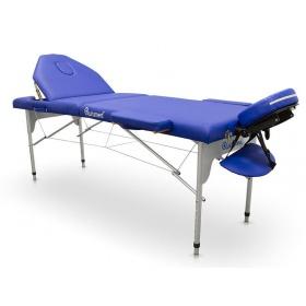 Φορητό κρεβάτι αλουμινίου - βαλίτσα μασάζ DELUXE