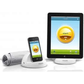Blood pressure monitoring system for iPod Touch, iPhone and iPad iHealth BP3