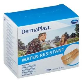 Επιθέματα αυτοκόλλητα μικροτραυμάτων Dermaplast 25 x 72 mm 100 τεμάχια