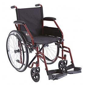 Αναπηρικό αμαξίδιο απλού τύπου με μεγάλη ρόδα CP100-48