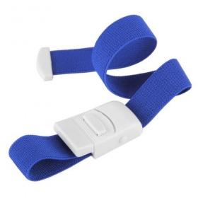 Ζώνη αιμοληψίας με κλιπ Servoprax μπλε