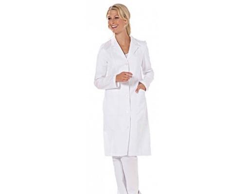 Ποδιά ιατρική γυναικεία λευκή